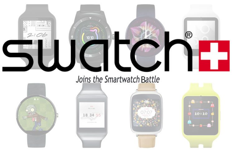 Swatch to Join The Smartwatch Battle 2