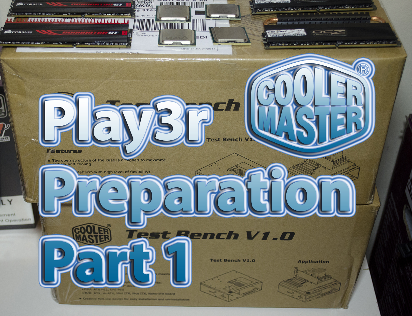Play3r Overclocking Team Bench Meet Preparations Part 1 5