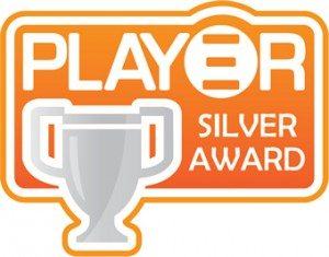 The Play3r Silver Award