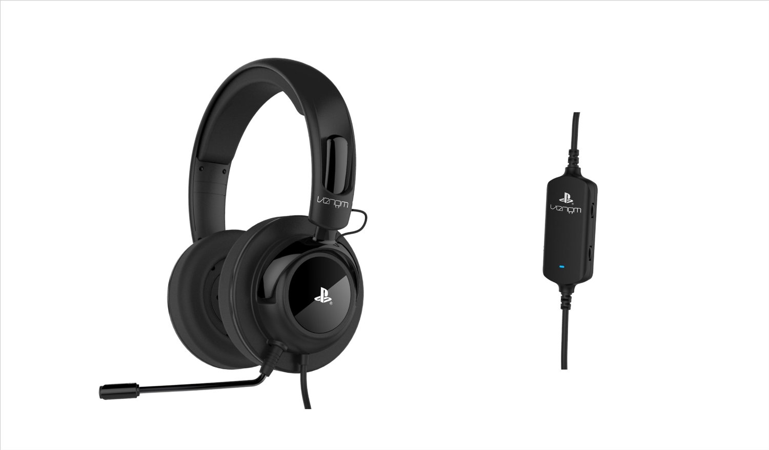Venom Vibration Stereo Gaming Headset Review - PS3/PS4 9