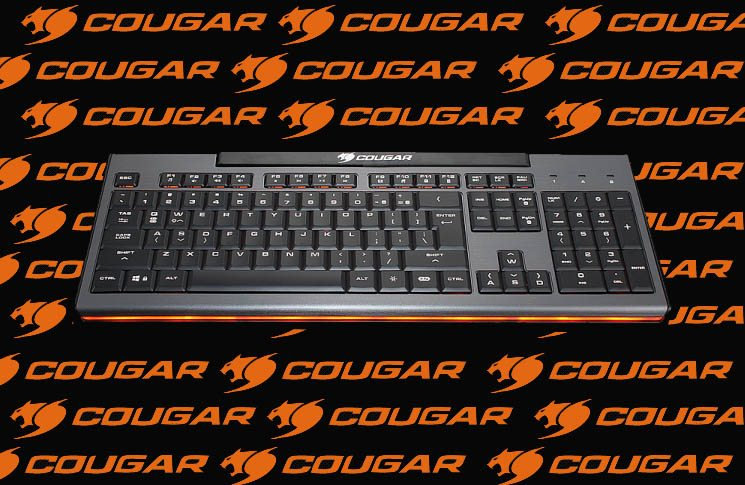 Cougar 200K Gaming Keyboard Review 12