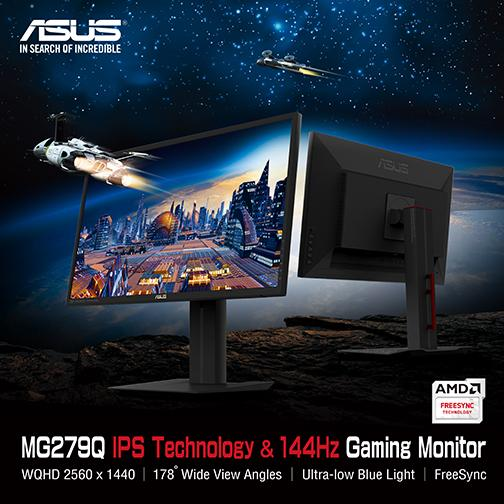 Asus MG279Q Now to be a FreeSync Monitor