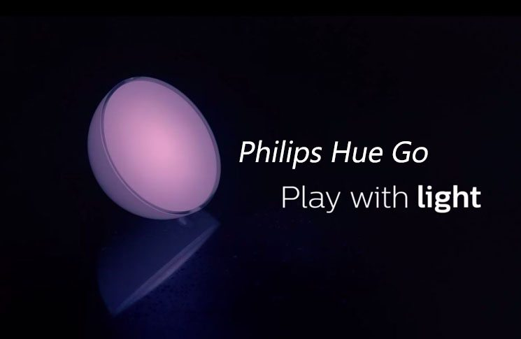 Philips Hue Go: A Portable Smart Light