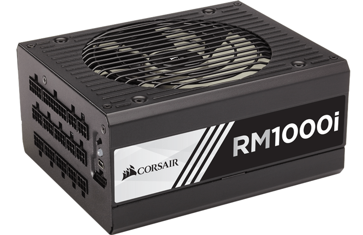 Corsair Announces 80 Plus Gold Power Supplies with RMi Series 5