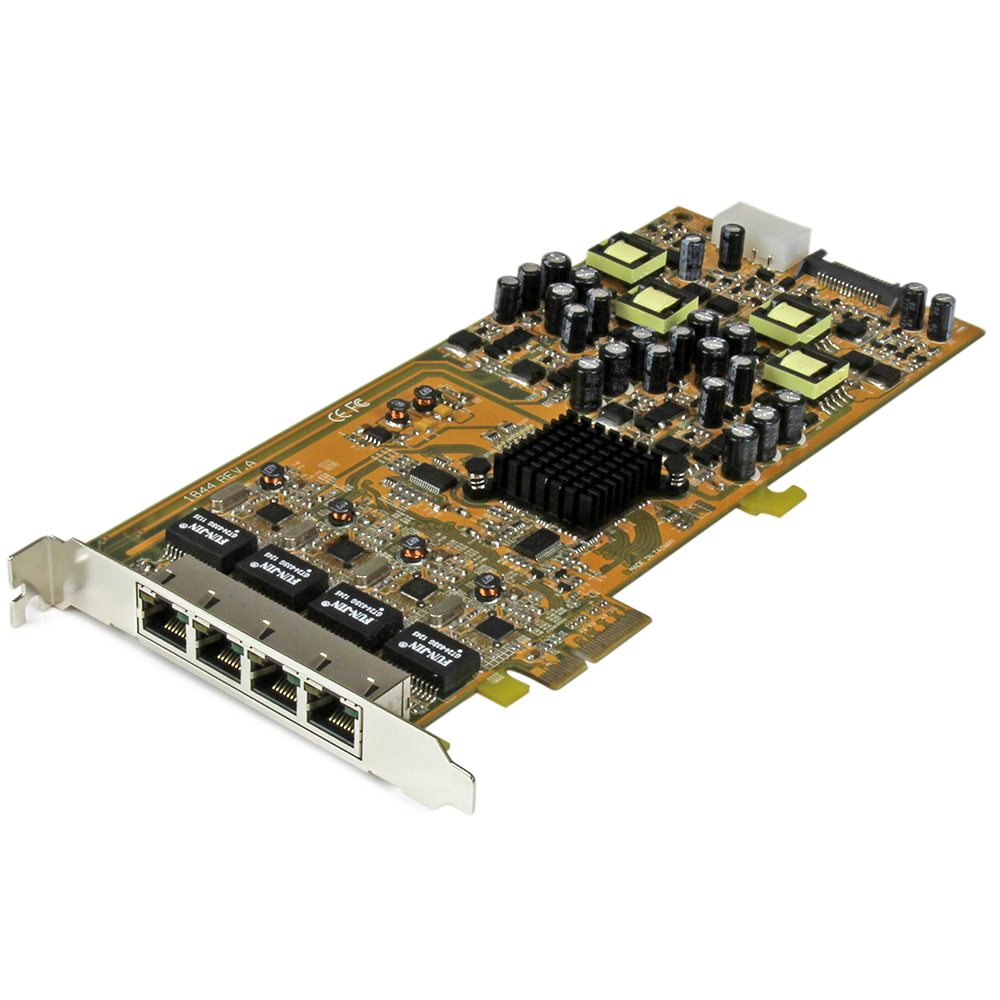 Startech - New PoE+ Gigabit Network Card Saves Installation Costs