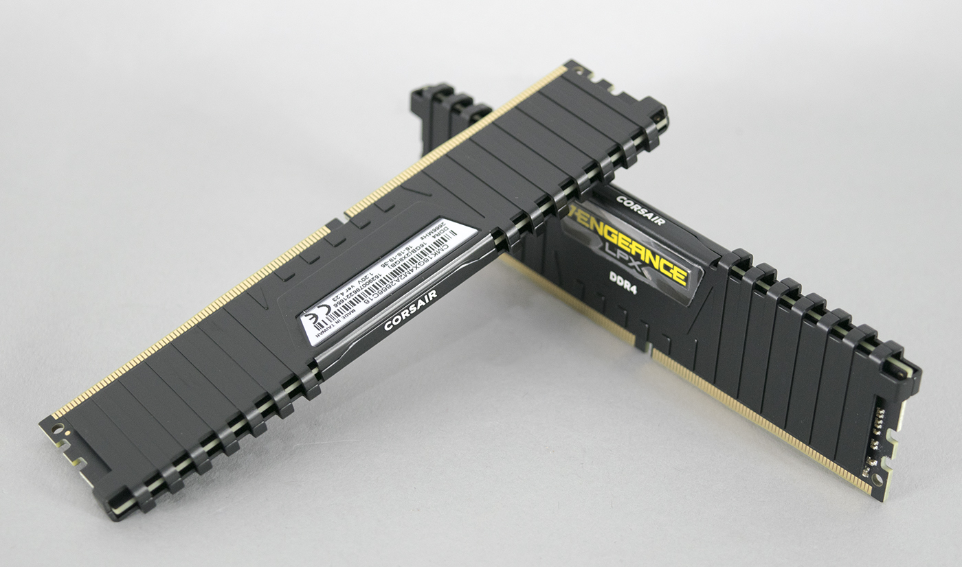 corsair vengeance lpx ddr4 2666mhz 16gb 2x8gb review play3r. Black Bedroom Furniture Sets. Home Design Ideas