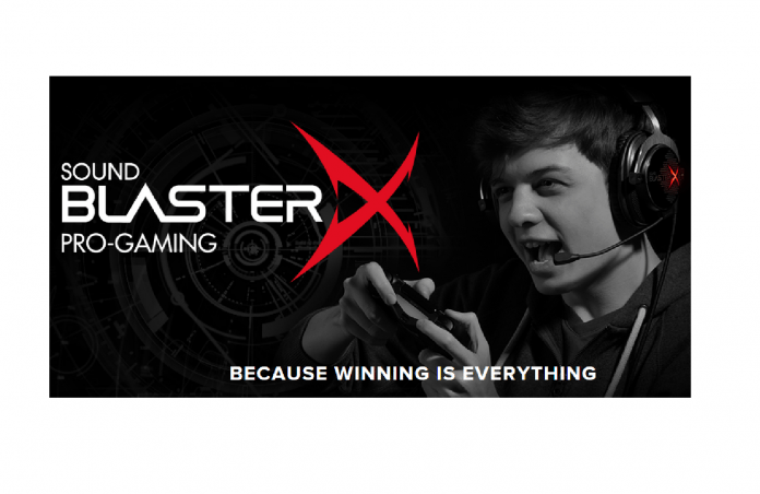 Announcing Sound BlasterX®: An All New Line of  Superior Professional Gaming Audio Gear 4