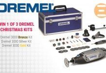 Win 1 of 3 Dremel 3000 Multitool Christmas Kits With Play3r & Dremel (Worldwide) 5