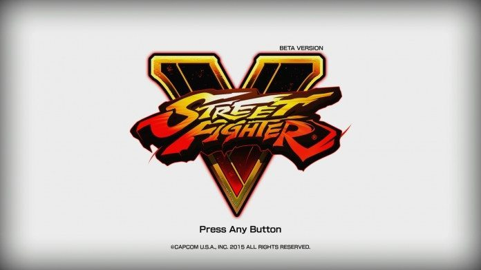 A look at the Street Fighter V beta 1