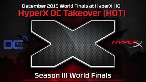 HyperX H.O.T Season III Finals Live on OverClocking-TV