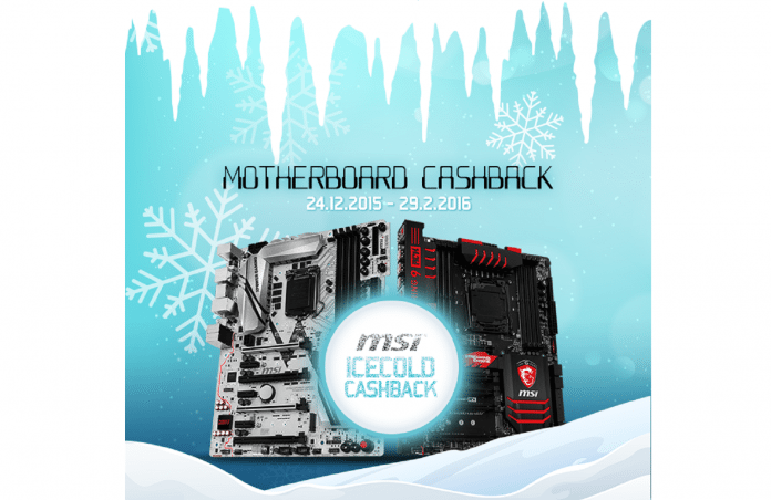 MSI Offer up to £30 Cashback on Wide Range of Motherboards 2