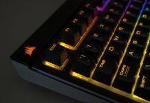 Corsair STRAFE RGB Silent Mechanical Keyboard Review 16