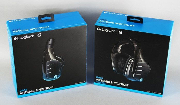 Logitech G633 & G933 Artemis Spectrum Gaming Headset Review 1