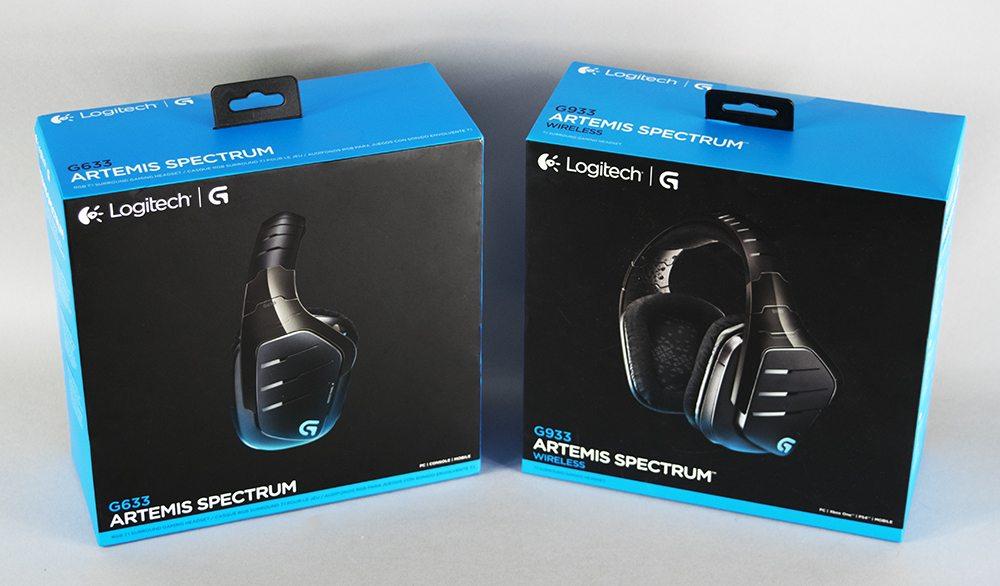 Logitech G633 & G933 Artemis Spectrum Gaming Headset