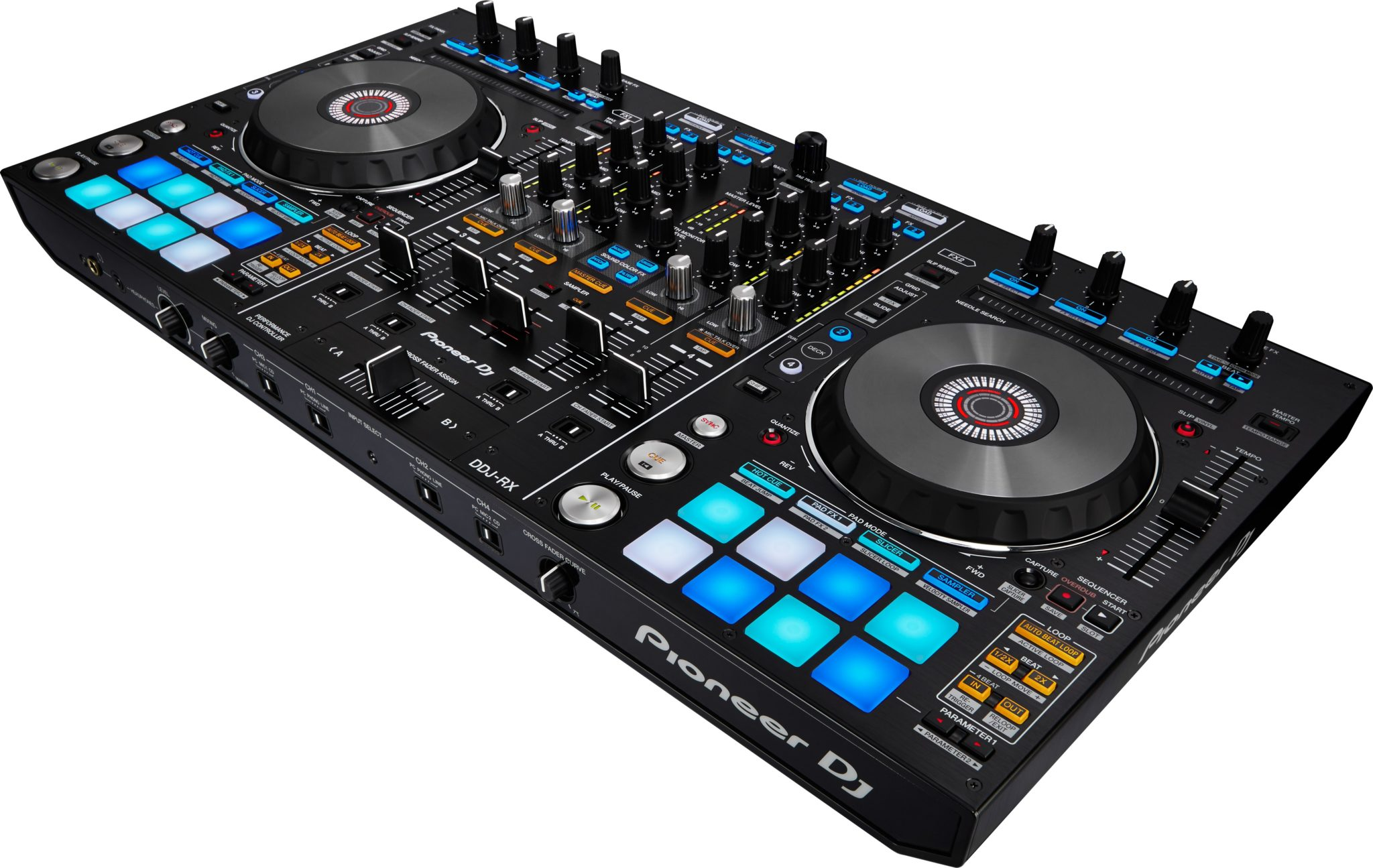 pioneer dj ddj rx review play3r. Black Bedroom Furniture Sets. Home Design Ideas