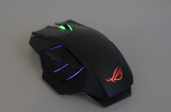 ASUS ROG Spatha Gaming Mouse Review 9