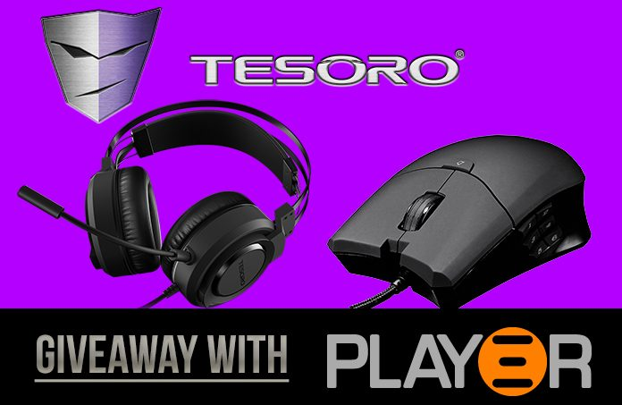 Win a Tesoro Thyrsus Gaming Mouse & Olivant Gaming Headset With Play3r