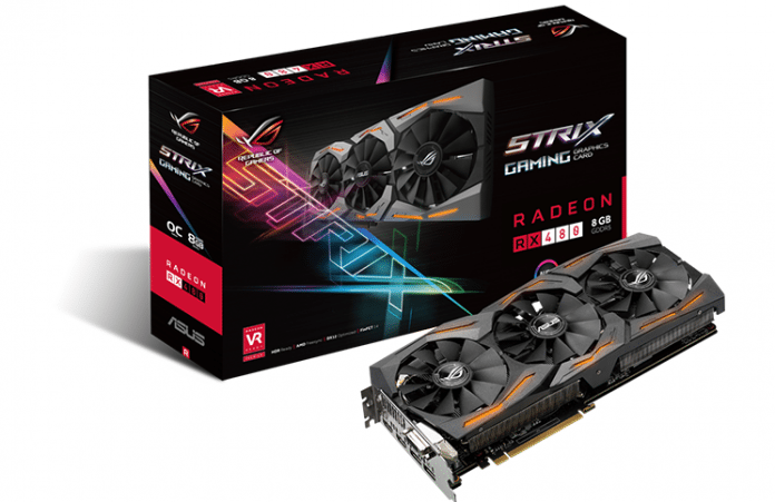 ASUS Announces Strix RX 480 3
