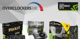Overclockers UK to Stock Largest Range of GTX 1060s