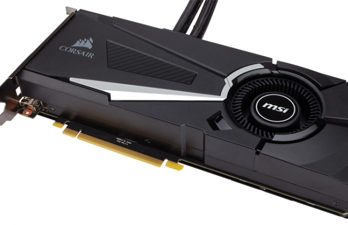 CORSAIR Launches Hydro GFX GTX 1080 Liquid Cooled Graphics Card