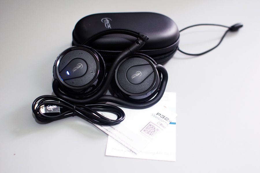 Arctic-P324BT-Headset-Box-Content