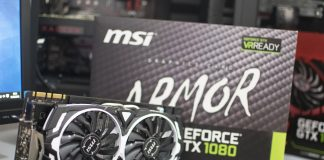 MSI GTX 1080 Armor OC 8GB Review