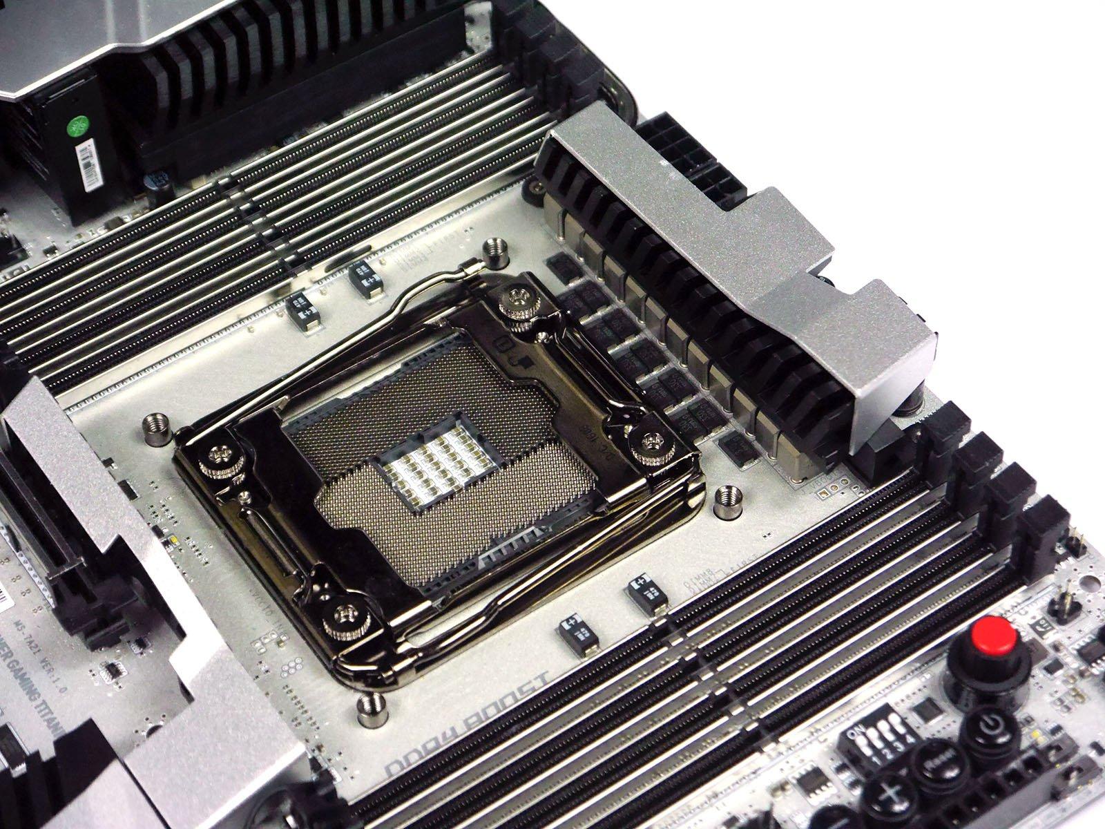 MSI X99A XPOWER Titanium - DIMM