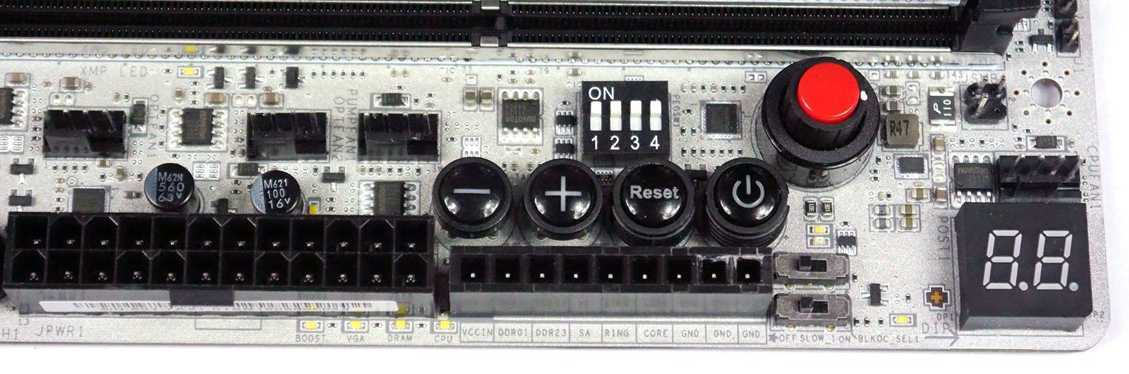 MSI X99A XPOWER Titanium - OC Panel