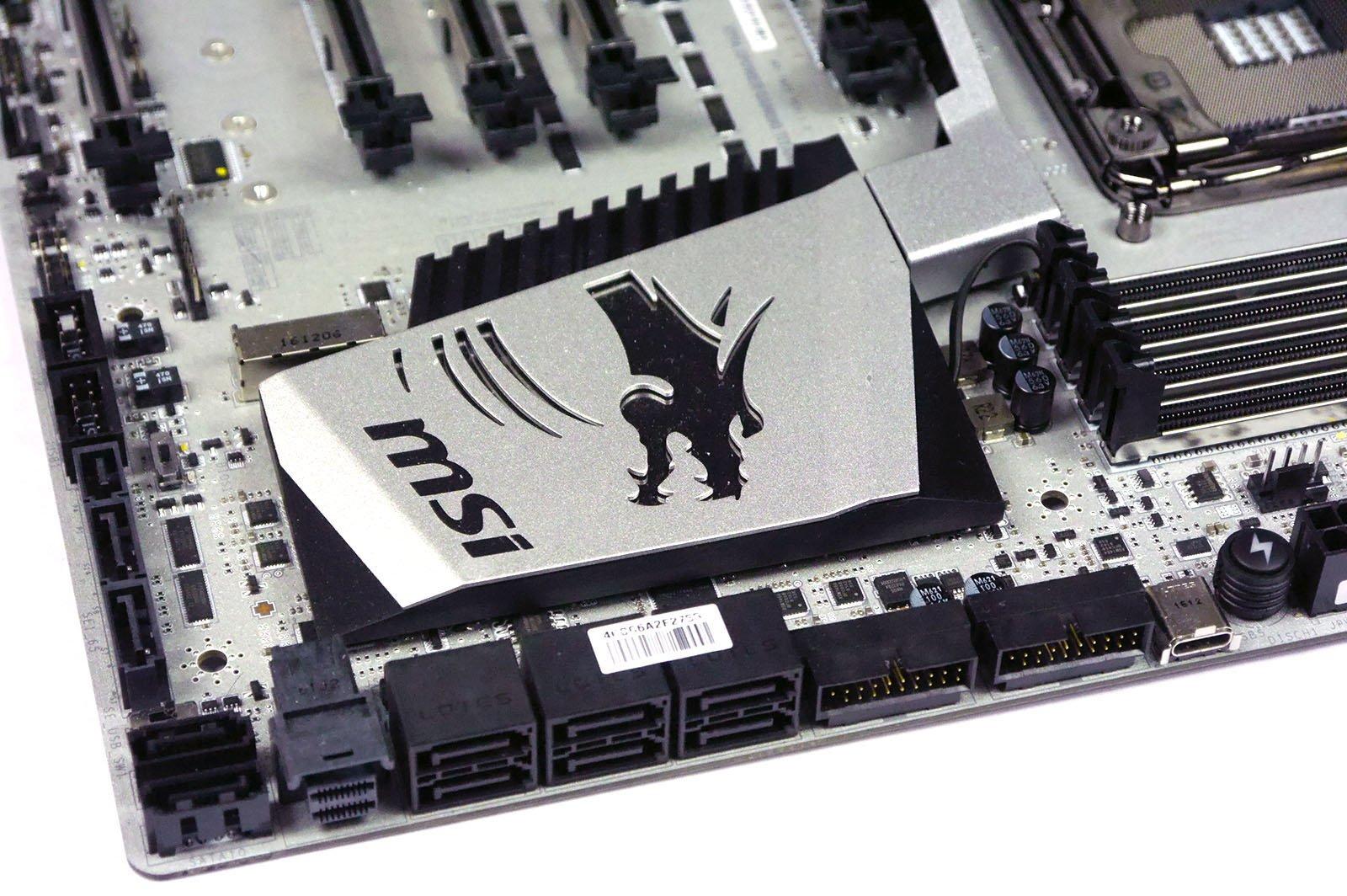 MSI X99A XPOWER Titanium - SATA Ports