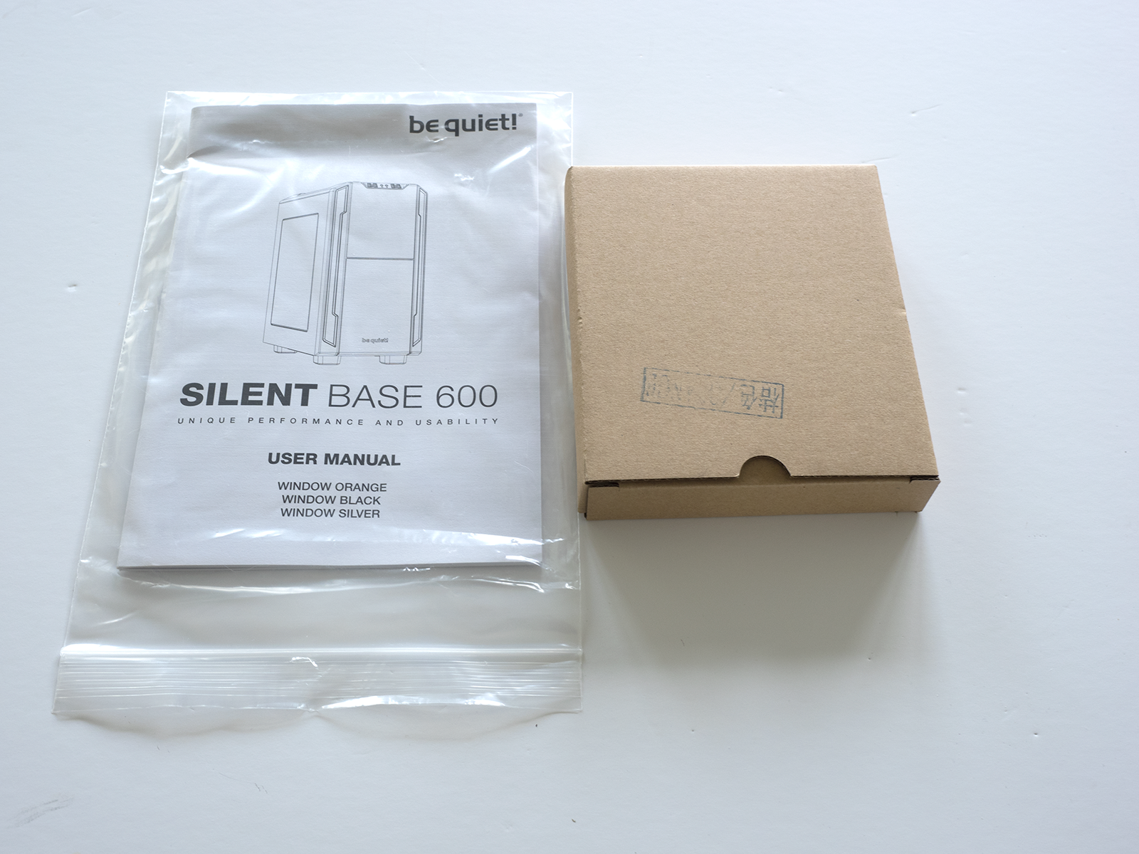 BeQuiet! Silent Base 600 Manual