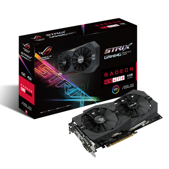 ASUS Republic of Gamers Announces The RGB Strix RX 470 5