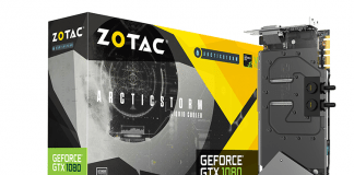 ZOTAC Brings Down The Mercury with the new ArcticStorm Waterblock 1
