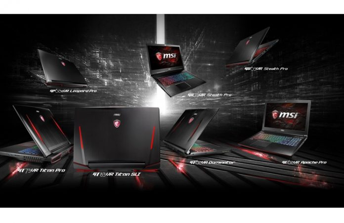 MSIs Entire Lineup of Gaming Notebooks get a VR-Ready Upgrade 1