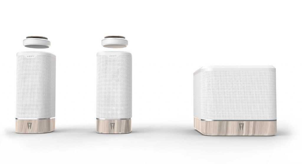 spaco-Levitating-speaker-voice-control