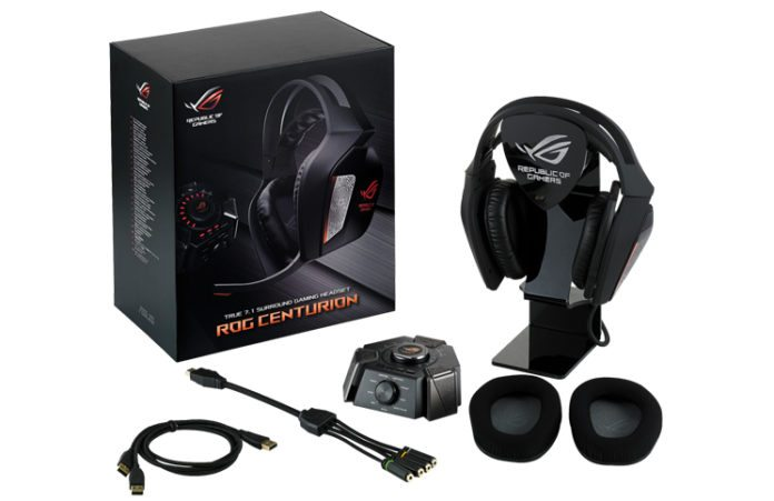ASUS ROG Announces Centurion 7.1 Headset 2