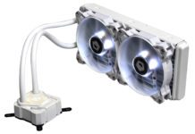 ID-COOLING Releases ICEKIMO 240W Pure White Water Cooler