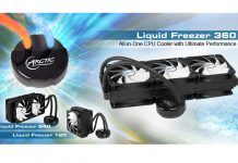 Arctic enhance their lineup with added CPU Coolers 5