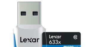 Lexar Announces 256GB High-Performance 633x microSDXC UHS-I (U3) Card