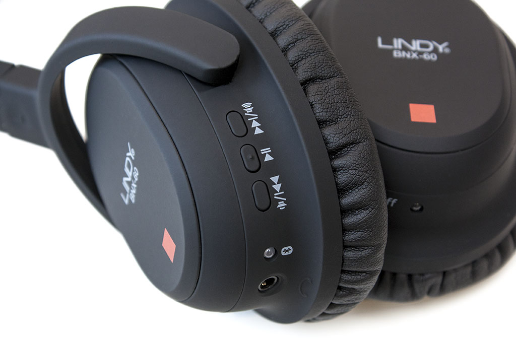 lindy bnx-60 wireless headphones left ear cup