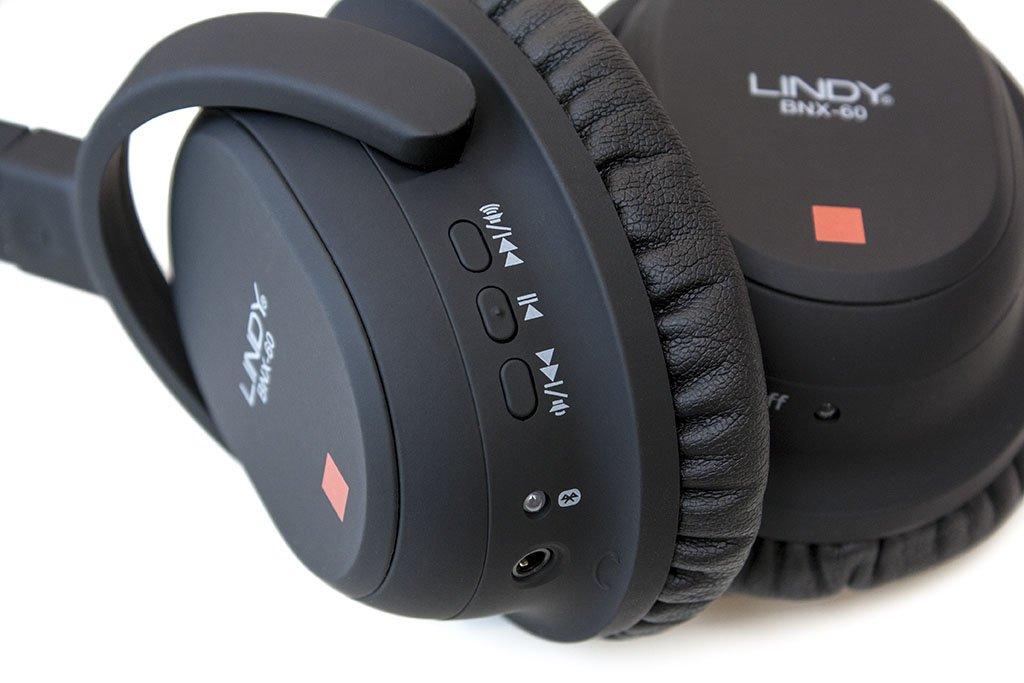 lindy bnx-60 wireless headphones left ear cup