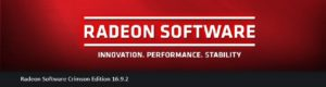 radeon software 16 9 2 version