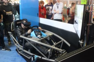 VR Racing Rig presented by SCAN