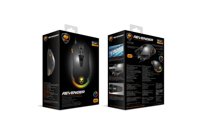 Cougar Launches The Revenger Gaming Mouse 2