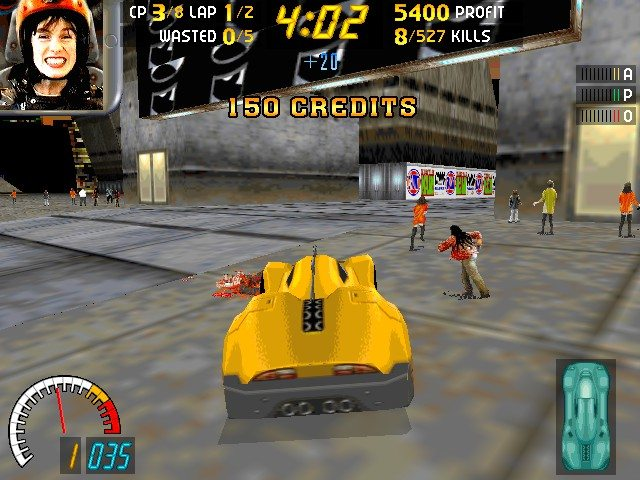 Carmageddon 1 Screenshot