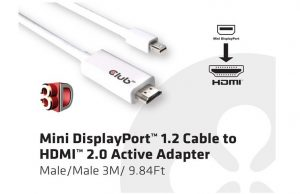 Club 3D Mini Dp Adapter