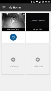 HomeMonitor Ycam Evo App 4
