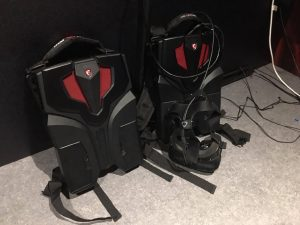 MSI VR ONE Backpacks