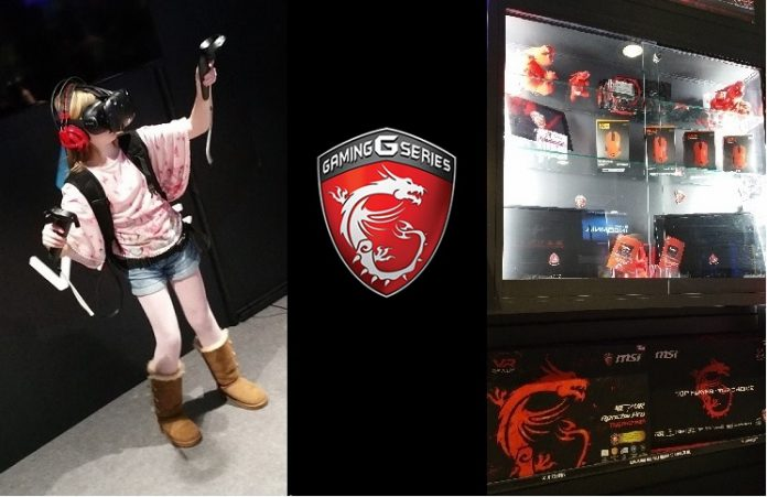 MSI VR ONE – Hands On Test in Manchester, UK 5