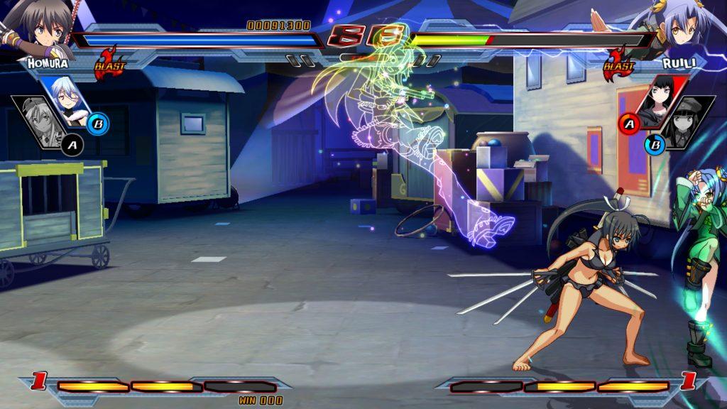Nitroplus Blasterz Heroines Infinite Duel 4