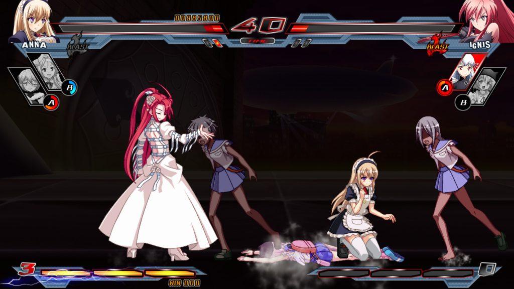 Nitroplus Blasterz Heroines Infinite Duel 3